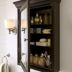 Hotel Wall Medicine Cabinet - Bring fine spa quality and style to your bathroom with our wall-mounted medicine cabinet.