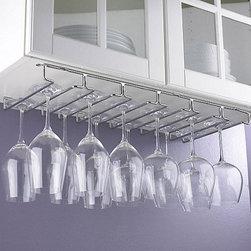 Under-Cabinet Stemware Rack -