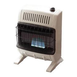MR. HEATER - Blue Flame 10K BTU Heater NG - Vent free blue flame 10K BTU heater