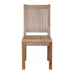 Anderson Outdoor Furniture - Chester Dining Chair - Take a load off. This simple yet elegant outdoor seating is a fantastic way to appreciate the outdoors — without the danger of grass stains.