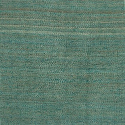 Jaipur Rugs - Naturals Solid Pattern Hemp Blue/Area Rug (2 x 3) - The Rugged collection offers a range of hand woven jute fringed rugs in different solid color options. The weave is textural, rustic and chunky. The rugs are very durable and also reversible making them easy to use.