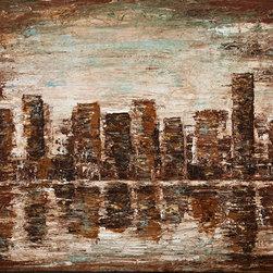 """Dustin Sinner Fine Art - Vanilla Skyline Giclee, 30x40 Giclee - 30""""x40"""" Vanilla Skyline Giclee"""