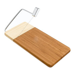 Cheese Slicer Dark Light Bamboo