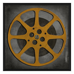 The Artwork Factory - 'Film Reel 5' Print - Flaunt your reel deal film-buff style. This museum quality print on high resolution, acid-free paper makes a striking statement in your decor.