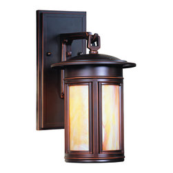 Troy Lighting - Troy Lighting BIH6910OB Highland Park Transitional Outdoor Wall Sconce - Troy Lighting BIH6910OB Highland Park Transitional Outdoor Wall Sconce