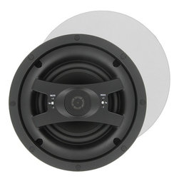 """InwallTech - InwallTech HD-650.1C High Definition 6 1/2"""" Virtually Invisible Ceiling Speakers - Set of Two Speakers"""