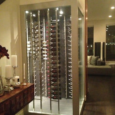 Modern Wine Cellar by Significant Buildings and Construction