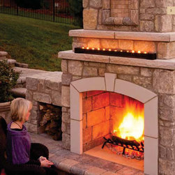 The Serenity Fireplace III by General Shale -