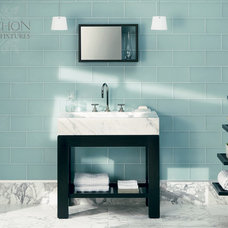 traditional bathroom tile by Cabochon Surfaces & Fixtures