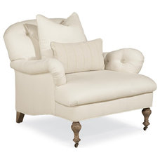 Traditional Armchairs by Candelabra