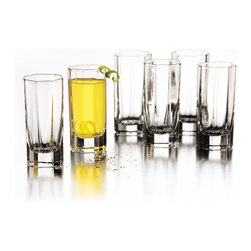 Style Setter - Style Setter Octavia 6-piece Shot Glass Set - Host your own happy hour with this stylish and contemporary six-piece shot glass set. Perfect for serving mixed drinks and fruity concoctions, these gorgeous glasses will add pizzazz to your party, and they are dishwasher safe for added convenience.