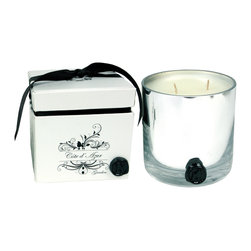 Rojo16 - Cote Dazur Candle - Like a trip to the French Riviera, this double wick candle in mercury glass invites the floral essence of pink pepper, jasmine and gardenia into your bedroom or bath. And with its charming decorative box it makes a delightfully scent-sible gift.