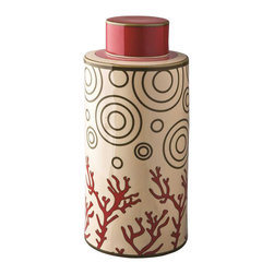 Piling Palang - Unique Coral Tea Caddy by Piling Palang - If coffee is not your cup of tea, you'll love this caddy. Use it to store and dispense your favorite blends. And while this tea caddy is entirely functional, it's also a pretty piece that can hold its own atop your mantel or shelf.