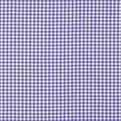 "Gingham Check Lavender 72"" Round Tablecloth with Toile Topper"