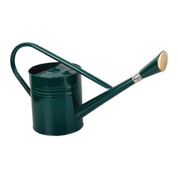 Esschert Design - Watering Can Tall - Large traditional dark green watering can. Volume: 2 gallons.