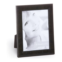 """Origin Crafts - Versailles dark charcoal wood picture frame - Versailles Dark Charcoal Wood Picture Frame Veener Finish. Dimensions (in): Width: 7/8, Height: 1/2 Holds (4""""x6"""", 5""""x7"""", 8""""x10"""") photos. By Roma Moulding - Roma Moulding uses only the highest quality materials. Roma owes it?s renown to exquisite details: meticulous applications of gold and silver leafing, genuine woods, exotic veneers, patinas, superior lacquers and finishes all done by hand. Roma employs time proven techniques to achieve the stunning finishes other manufacturers strive to achieve. Ships within Five Business Days."""