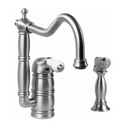 Graff - Graff - Canterbury Kitchen Faucet w/ Side Spray  - G-4855-LC3-OB - Canterbury Collection