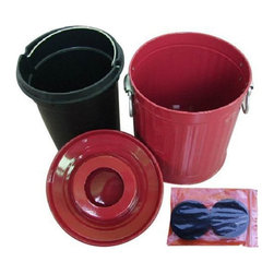 Vermitek - Kitchen Compost Pail - Crimson Multicolor - G00906030R - Shop for Garden Equipment from Hayneedle.com! About VermiTek Garden LLCVermitek Garden LLC is an innovative designer manufacturer and marketer of essential garden products including compost bins bokashi systems and garden beds.