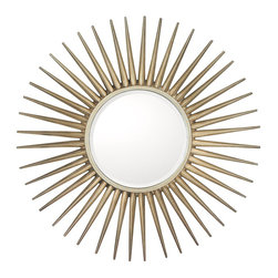 Capital Lighting - Capital Lighting Contemporary Round Wall Mirror X-874343M - Capital Lighting Contemporary Round Wall Mirror X-874343M