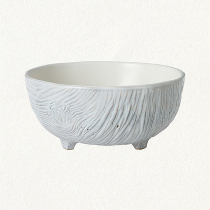 contemporary dinnerware Wood Grain Soup Bowl