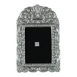 Sterling Silver 4x5 Picture Frame - Puya Real - -Made from 950 Peruvian sterling silver