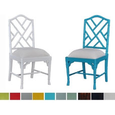 Asian Dining Chairs by Charlotte and Ivy