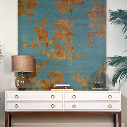 Monaco Console - SALE - Our Monaco console is a beautiful combination of classic and chic. With four drawers, a solid walnut base, and beautiful drawer pulls, the Monaco will instantly upgrade any space. Made to order in the USA, this console can be delivered to your home in 6 - 8 weeks.