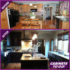 Findley & Myers Palm Beach Dark Chocolate Kitchen Cabinets - other metro - by Cabinets To Go