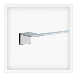 Liberty Hardware - Liberty Hardware 77724 Vero - Delta 25.75 Inch Towel Holder - Polished Chrome - The minimalist styling of the Vero collection gives your bath the look of an urban oasis. Available in Brilliance Stainless or Polished Chrome finish, the sleek lines of Vero create a thoroughly modern yet timeless feel. This collection complements the Vero faucet collection by Delta. Center to Center - 24 Inch, Width - 25.75 Inch, Height - 1.72 Inch, Projection - 2.94 Inch, Finish - Polished Chrome, Weight - 1.7 Lbs.