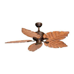 """Vaxcel Lighting - Vaxcel Lighting FN52261 Palm Beach 52"""" 5 Blade Indoor Ceiling Fan with Reversibl - Features:"""