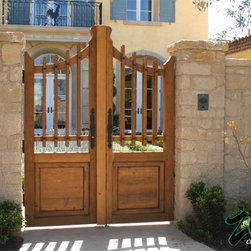 Pedestrian Gates - This image is the exclusive property of Ziegler Doors, Inc. and are protected under the United States Copyright law. This image may not be reproduced, copied, transmitted or manipulated without the written permission of Ziegler Doors, Inc.