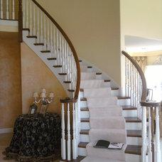 by Jusalda custom stairs Inc,