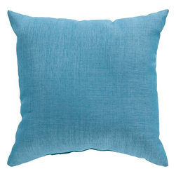 "Surya - Surya ZZ-427 22"" x 22"" Poly Fiber Pillow Kit - Looking for a piece that surpasses current trend and will remain timeless in your indoor or outdoor space for years to come? This is the pillow for you. Featuring a functional solid coloring in royal blue, this piece fashions a sophisticated, simple look that easily translates from room to room. This pillow provides a reliable and affordable solution to updating your indoor or outdoor decor."