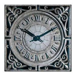 "Factory Direct Wall Decor - New Orleans Wall Clock - The New Orleans is a beautiful clock with a Southern and Old World feel. It's measurements are 22""W x 22""H x 2"" in Depth. This item weighs approximately 10 lbs, and requires one AA battery."