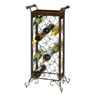 Howard Miller - Howard Miller Wine Storage Butler in Warm Gray and Americana Cherry - Howard Miller - Wine Racks - 655147 - For over 70 years Howard Miller has understood the need to create products that are steeped in quality and value and to never expect anything less than the best. No matter the price of the purchase you have Howard Miller's assurance of quality that is reflected in both the products they create and in the people whose artistic talents they rely on to manufacture them. Incomparable workmanship. Unsurpassed quality. A quest for perfection