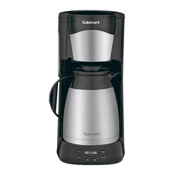 Cuisinart - Cuisinart 12-Cup Programmable Thermal Coffeemaker - 12-cup (5 oz.) double-wall insulated Stainless Steel carafe