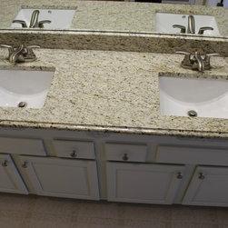 Shop Countertop Giallo Ornamental Granite Bathroom Sinks