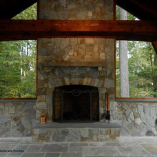 Traditional Patio by Accent Truss