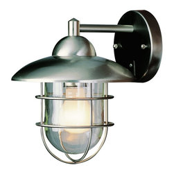Trans Globe Lighting - Trans Globe 4371 ST Coach Lantern - Stainless Steel - 9W in. Multicolor - 4371 S - Shop for Home Furnishings and Accents from Hayneedle.com! Don't waste your time or money with the restoration of old hardware when you can add the robust of look of authentic industrial chic that the Transglobe 4371 ST Coach Lantern - Stainless Steel - 9W in. has in spades. This metal fixture has a smooth stainless steel finish and a clear glass shade. Make sure you have a 100-watt medium base bulb handy because when this fixture gets to your house you won't want to wait to enjoy it.About Trans Globe Lighting Inc.Born from the hopes and dreams of two entrepreneurial spirits in 1986 Trans Globe Lighting offers one of the most comprehensive and stylish collections of residential lighting in the world. This family-owned company based in North Hollywood Calif. is marked by personal involvement with a wide variety of products available at the lowest prices. From traditional to ultra-contemporary in style Trans Globe has just the right light for you.