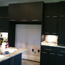 Contemporary Kitchen Cabinets by Grabince Custom Divisions