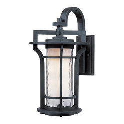 Maxim Lighting - Maxim Lighting 85784Wgbo Oakville Ee 1-Light Outdoor Wall Lantern - Maxim Lighting 85784WGBO Oakville EE 1-Light Outdoor Wall Lantern