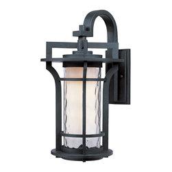 Maxim Lighting - Maxim Lighting 85784WGBO Oakville EE 1-Light Outdoor Wall Lantern - Maxim Lighting 85784WGBO Oakville EE 1-Light Outdoor Wall Lantern