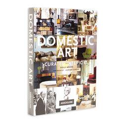 Domestic Art - From Assouline, the world's premier publisher of luxury books, comes Domestic Art. This definitive anthology of home design features stunning images ranging from eclectic bungalow to modern architectural masterpiece. It's curated interiors feature 35 individual design projects, pulled from a decade of publications from PaperCity magazine. Ogle over interior design projects ranging from John and Dominique de Menil's International Style house to a futuristic modern pad bursting with Philippe Starck follies. Gather inspiration from a gallery owner who restored an 1880's home from the edge of ruin. Enter the realm of real-life fantasy with a designer's personal home suspended over an earthquake fault line. The spine of this luxurious book can be seen gracing the coffee tables and libraries of countless designers' and celebrities' personal homes. Your guests are sure to get lost in the realms of enviable beauty and style within the pages of Domestic Art.