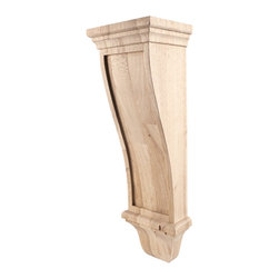 Hardware Resources - Cherry Renaissance Corbels - Renaissance Corbel. 7In. x 6In. x 22In. Species: Cherry. Made in the USA.