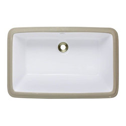 PolarisSinks - Polaris P2181UW White Undermount Porcelain Bathroom Sink - Our extensive line of porcelain sinks will compliment any decor from the traditional to the unique. Our porcelain sinks are true vitreous China with a triple laid glaze to create the strongest sink you will find. Our porcelain sinks are extremely low maintenance. Our porcelain sinks are covered by a limited lifetime warranty. Each comes with a cardboard cutout template and mounting hardware.