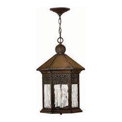 Hinkley Lighting - Hinkley Lighting 2992SN Westwinds Lantern in Sienna - Hinkley Lighting 2992SN Westwinds Lantern in Sienna