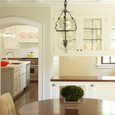 Traditional Dining Room by JWH Design and Cabinetry LLC