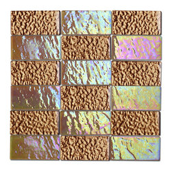 """Alttoglass Precious stone series color amber - Alttoglass Precious Stone Amber 12"""" x 12"""" StoneMosaic Tile Features: Application: Indoor only, Walls Install Type: Thin-Set Usage: Commercial or Residential Color:Amber Product Type Mosaic Tile Coverage 1 sq ft Piece(s):11 per Box Material:GlassTile Size:12 x 12 format / Shape Square Tile Use: Wall Series:Precious Stone Brand:Alttoglass Weight: 4.00 lbs Dimensions:Length - 12.00""""   Width - 12.00"""""""