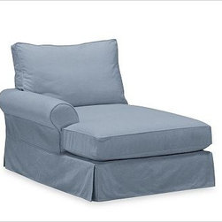 PB Comfort Roll Arm Slipcovered Left Arm Chaise, Box, Polyester Wrap Cushions, W - Sink into this comfort sectional just once, and you'll know how it got its name.With extra-deep seats and three layers of thick padding on the arms and back, these eco-friendly components provide roomy comfort for the whole family. {{link path='pages/popups/PB-FG-Comfort-Roll-Arm-4.html' class='popup' width='720' height='800'}}View the dimension diagram for more information{{/link}}. {{link path='pages/popups/PB-FG-Comfort-Roll-Arm-6.html' class='popup' width='720' height='800'}}The fit & measuring guide should be read prior to placing your order{{/link}}. Choose polyester wrapped cushions for a tailored and neat look, or down-blend for a casual and relaxed look. Choice of knife-edged or box-style back cushions. Proudly made in America, {{link path='/stylehouse/videos/videos/pbq_v36_rel.html?cm_sp=Video_PIP-_-PBQUALITY-_-SUTTER_STREET' class='popup' width='950' height='300'}}view video{{/link}}. For shipping and return information, click on the shipping tab. When making your selection, see the Quick Ship and Special Order fabrics below. {{link path='pages/popups/PB-FG-Comfort-Roll-Arm-7.html' class='popup' width='720' height='800'}} Additional fabrics not shown below can be seen here{{/link}}. Please call 1.888.779.5176 to place your order for these additional fabrics.
