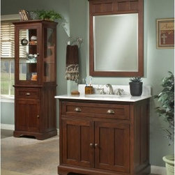 Sagehill Designs Somerset SS2421 24 in. Antique Glazed Single Bathroom Vanity - The Sagehill Designs Somerset SS2421 24 in. Antique Glazed Single Bathroom Vanity has a contemporary look with an injection of classic style. This wood vanity has an antique finish and a free-standing design to make it stand out from the crowd. It's tied together with a white marble countertop and backsplash. About Sagehill DesignsWith Sagehill Designs, it's all in the details. Since 1986, Sagehill Designs has been crafting superior quality kitchen and bath furnishings. Rich in detail that matter, you'll find heirloom-quality finishes, impeccable craftsmanship, and generous storage wrapped in a smart design. You get it all with a Sagehill Design original. Sagehill Design's specialists in helping you create the perfect kitchen or bath environment.